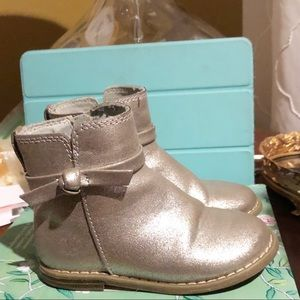 baby gap • toddler ankle boots with bow